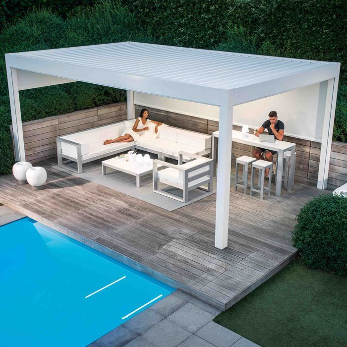 The Camargue - the ultimate pool party canopy