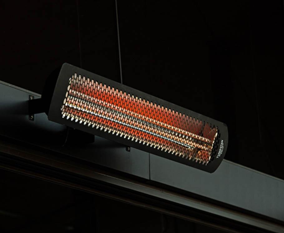 Tungsten outdoor heaters