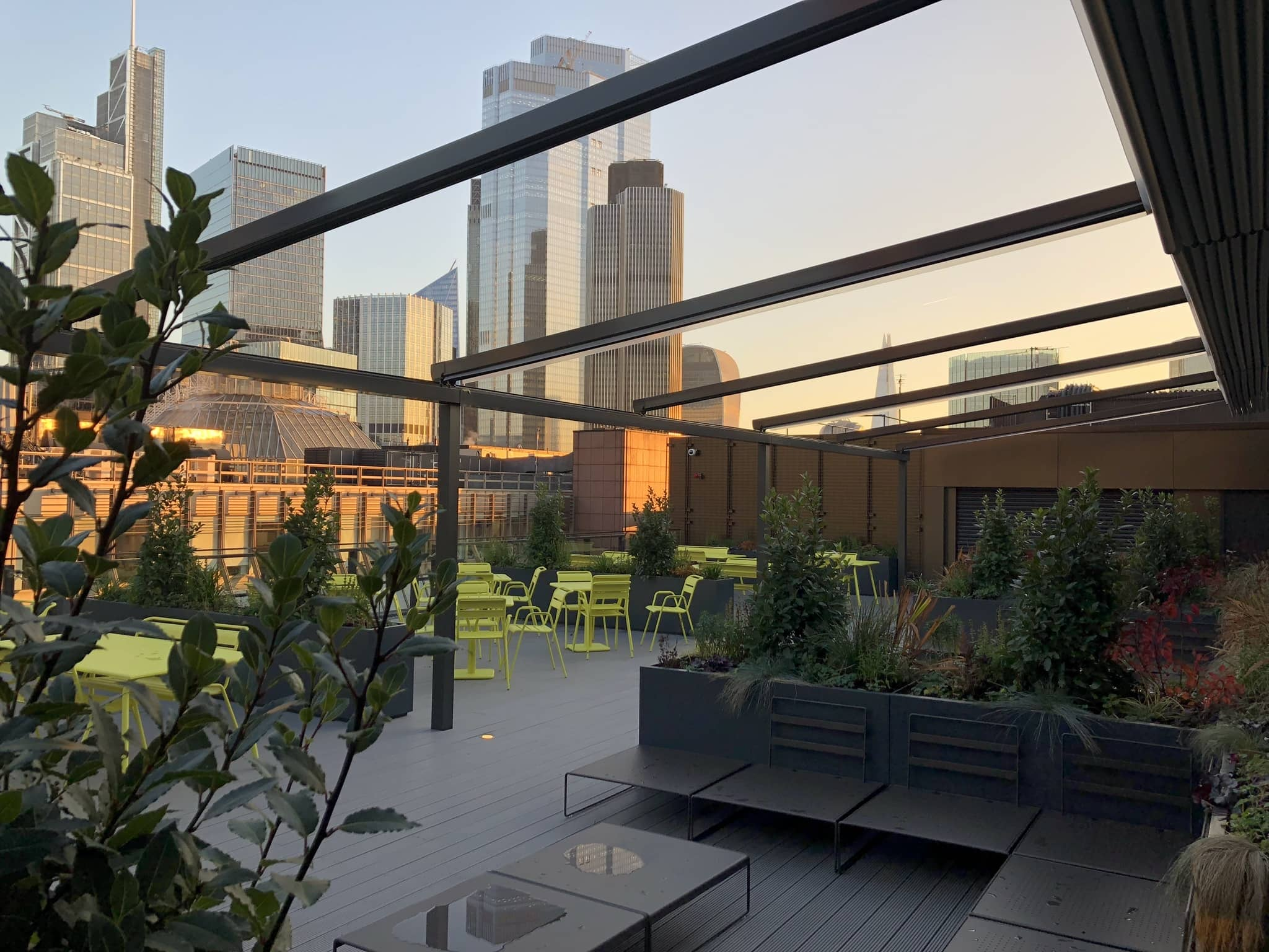 Rooftop Pergola   Retractable Canopies   Retractable Canopies